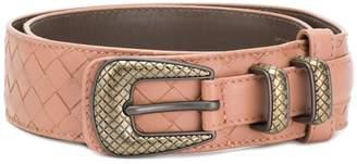 Bottega Veneta woven double layer belt