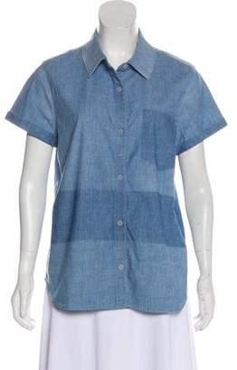 J Brand Denim Short Sleeve Top w/ Tags