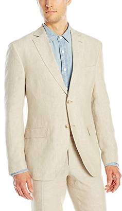 Franklin Tailored Men's Chambre Delave Linen Chase Jacket
