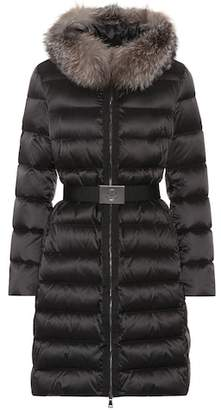 Moncler Tinuviel down coat with fur