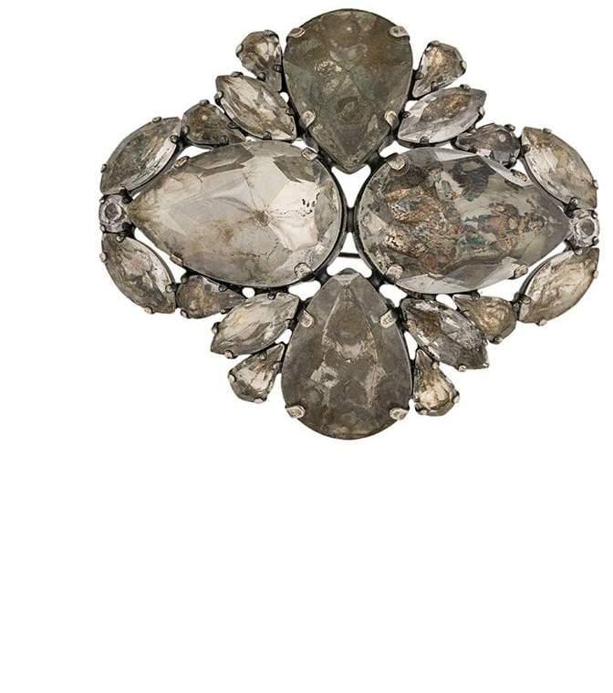 Erika Cavallini crystal brooch