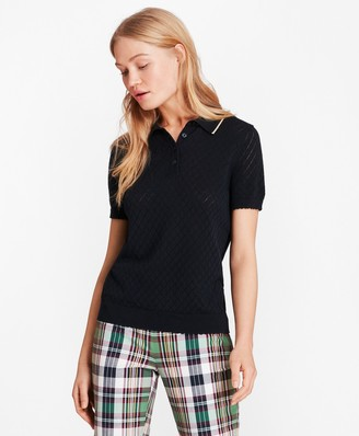 Brooks Brothers Pointelle Polo