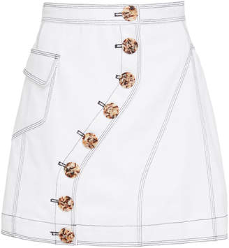 Acler Golding Denim Skirt