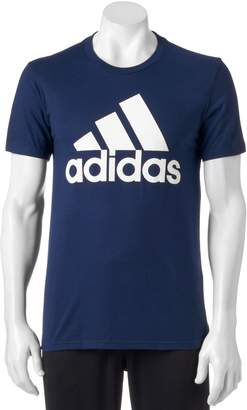 adidas Big & Tall Logo Performance Tee