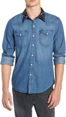 Levi's x Justin Timberlake Barstow Western Chambray Shirt