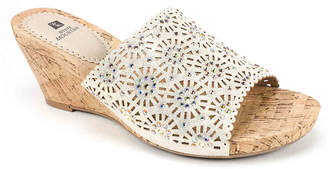 White Mountain Adira Wedge Sandal - Women's