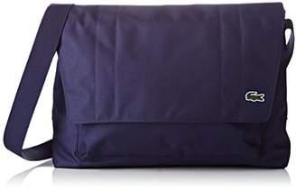 Lacoste Men''s NH1597NE Cross-Body Bag, (Peacoat)