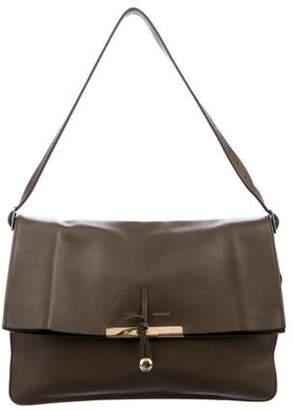 Celine Clasp Shoulder Bag Olive Clasp Shoulder Bag