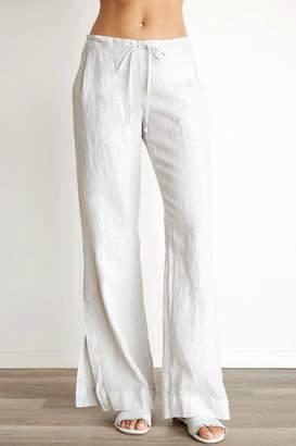 Bella Dahl Pleated Side Slit Pant