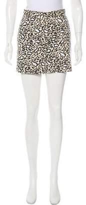 Stella McCartney High-Rise Short Shorts