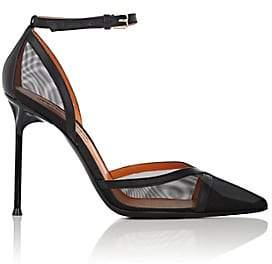 Walter De Silva Women's Eva Mesh & Leather Pumps - Black