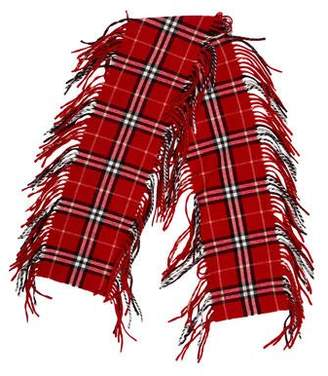Burberry Cashmere Happy Check Scarf