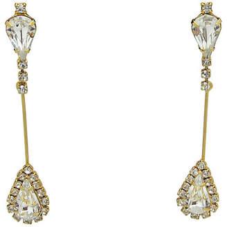 One Kings Lane Vintage Teardrop Pendulum Cocktail Earrings - Thanks for the Memories
