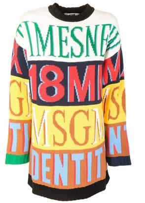 MSGM Oversized Sweater