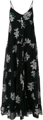 Dondup floral print maxi dress