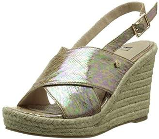 Elle Women's Campo Sandals Brown Size: