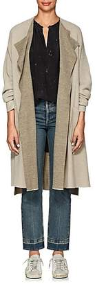 Pas De Calais Women's Double-Faced Wool-Blend Cardigan - Gray