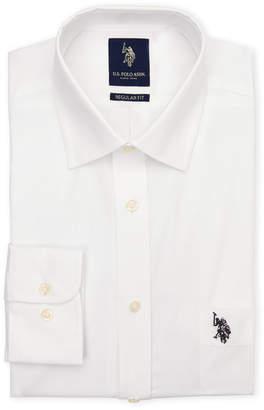 U.S. Polo Assn. White Regular Fit Dress Shirt