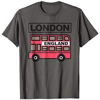 London England Shirt | Cool Double Decker Bus Driver Gift
