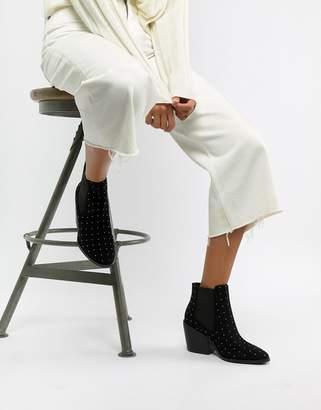 Asos DESIGN Rolando studded chelsea ankle boots