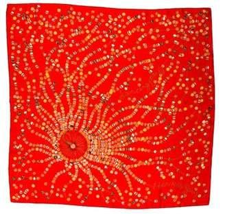 Hermes Dancing Pearls Silk Scarf
