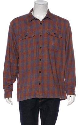 Patagonia Flannel Button-Up Shirt