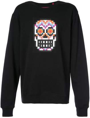 Mostly Heard Rarely Seen 8-Bit Muertos Skull sweatshirt