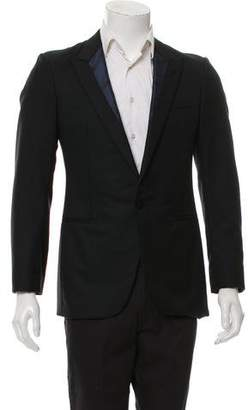 Lanvin One-Button Tuxedo Jacket