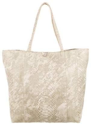Carlos Falchi Python Tote Bag
