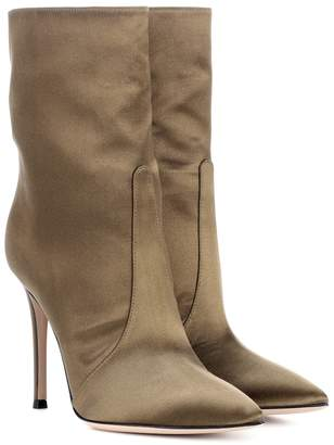 Gianvito Rossi Exclusive to mytheresa.com Melanie satin ankle boots