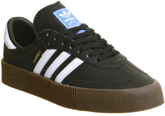 adidas Samba Rose Trainers Core Black White Gum 3c1e5a87ca