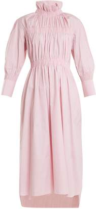 DAY Birger et Mikkelsen TEIJA High-neck long-sleeved cotton dress