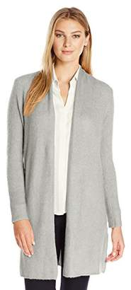 Lark & Ro Women's Long Open Cardigan