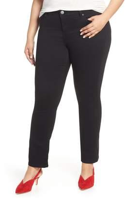 SLINK Jeans High Waist Crop Bootcut Jeans