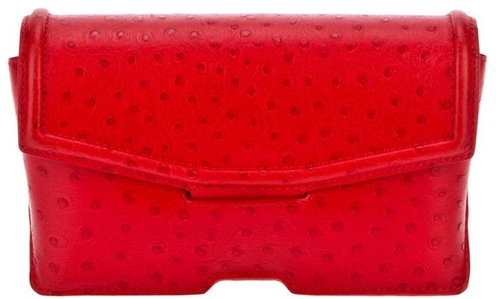 Alexander Wang leather clutch