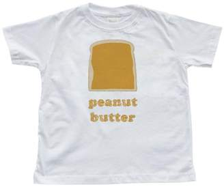 Butter Shoes Apericots Fun Twins Best Friends Toddler Kids Cute T-Shirt Peanut Goes With Jelly)