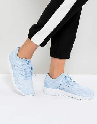 Asics Gel-Kayano Sneaker Knit Sneakers In Sky Blue