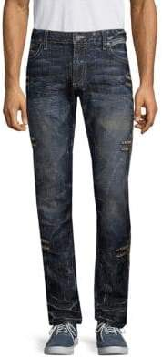 Chapa Embroidered Jeans