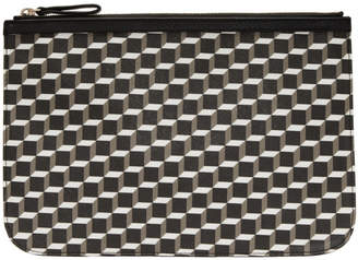 Pierre Hardy Multicolor Large Perspective Cube Pouch
