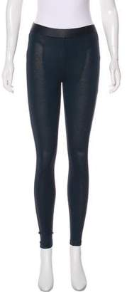 David Lerner Low-Rise Skinny Leggings