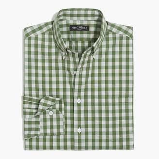 J.Crew Gingham flex casual shirt