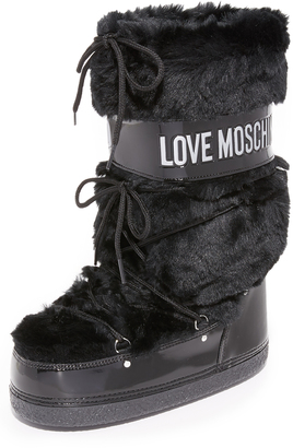 Moschino Moon Boots $195 thestylecure.com