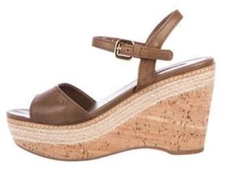 a4b029f3913 Prada Espadrille Wedge Sandals For Women - ShopStyle Canada
