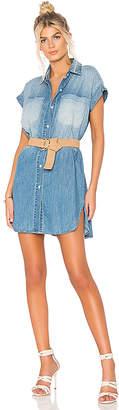 Hudson Sleeveless Shirt Dress.