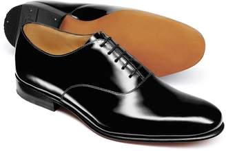 Charles Tyrwhitt Black Patent Oxford Shoe Size 11