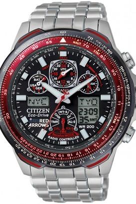 Citizen Mens Skyhawk A-T Red Arrows Titanium Alarm Chronograph Radio Controlled Watch JY0110-55E