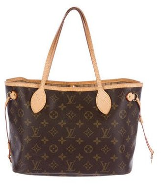 Louis Vuitton Monogram Neverfull PM $875 thestylecure.com
