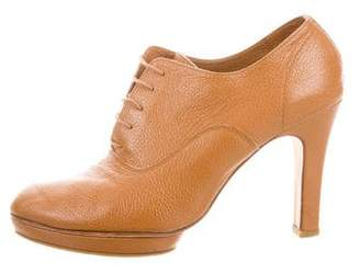 Repetto Leather Oxford Booties