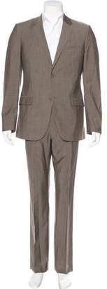 Calvin Klein Collection Wool Two-Button Suit