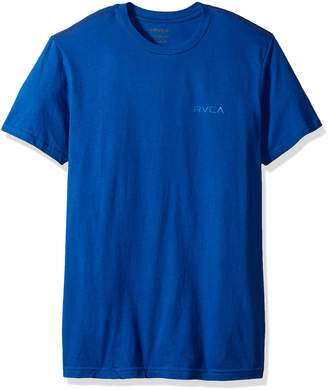 RVCA Young Men's Nation 2 Vintage Wash Tee Shirt